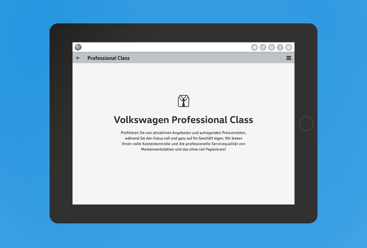 Volkswagen Bank App