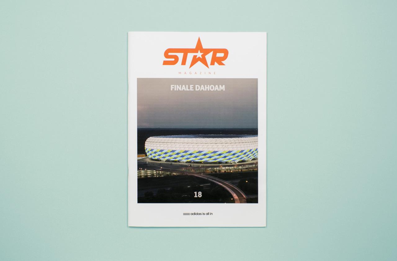 Adidas Star Magazin